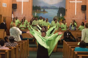 praise dance and choir